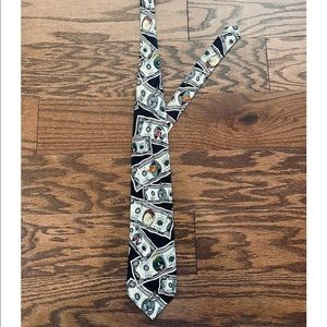 Looney Tunes Money Silk Necktie